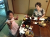 Meal with Kimata family