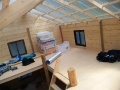Finished cabin