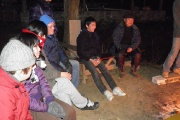 Fellowship / Worship around camp fire