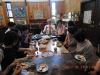 Tea time with Haruna church following worship