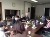Lunch with JSE students and teachers