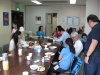 Fellowship meal with Tachikawa church