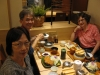 Meal with brother Kinjo, minister for Naha church in Okinawa
