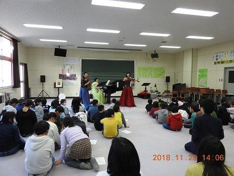 Autumn Concert for Natori Elementary School 2018