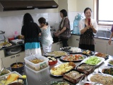 Fellowship meal with Ochanomizu church