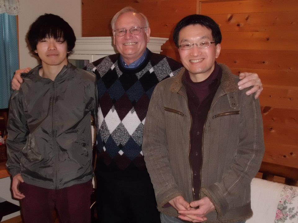 Toru, Shigeyuki - Father Son with Marlin