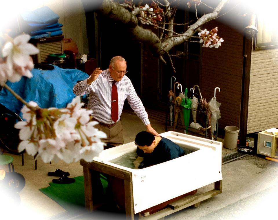 Shigeyuki\'s baptism 2