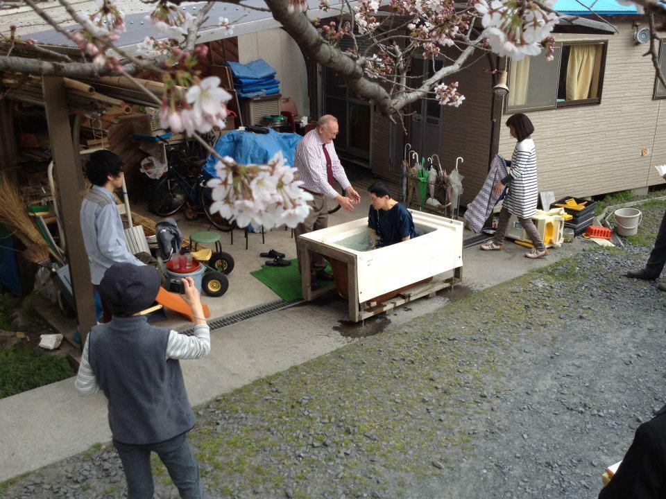 Shigeyuki\'s baptism 4