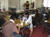 Agape meal for homeless in Mito