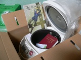 Rice Cooker with New Testament and Tract