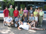 Campers, chaperones, and well wishers