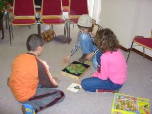 Benjamin, Rahel and Maria