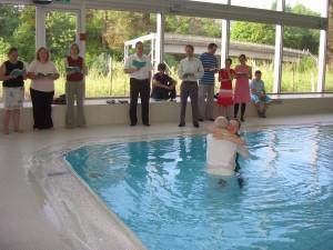 Maria's baptism