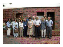 Yumiko with former Ibaraki Christian teachers.