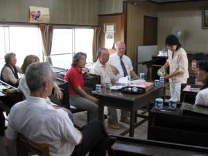 Fellowship with the Matsudo church following the assembly, Aug 23 '09.