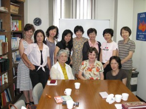 Ladies' Class with the Tachikawa church, Sept 8 '09
