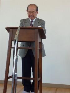 Hosokawa-san, an elder for the Ochanomizu church, led a prayer.