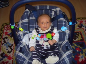 Our 7 week old son, Ilja