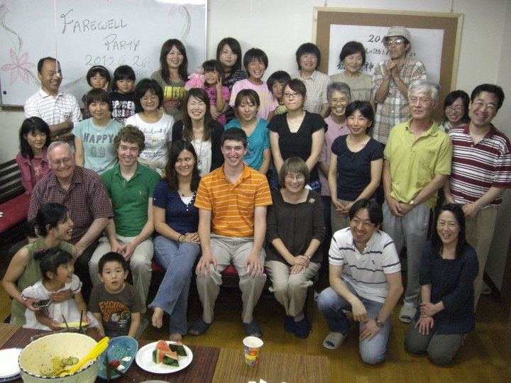 Closing Meeting for the 2010 LST Ministry at Tomobe, Japan