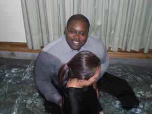Mari's baptism