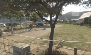 Park before earthquake and tsunami