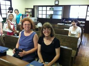 Margaret and Karen
