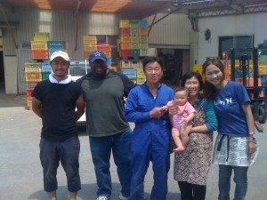 Helping in Rikuzentakata