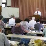 Speaking at Takahagi