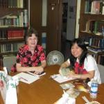 Josephine with Tachikawa member for class
