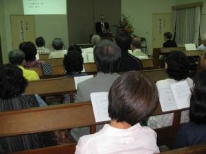 Meeting with Naha church, Okinawa.