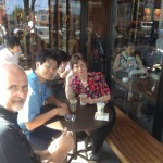 Coffee with Randy Vos and Makoto Tateno at Starbucks in Taga, Ibaraki.