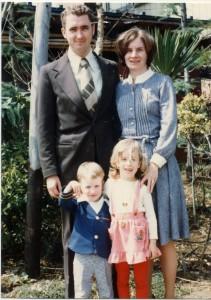 Albright family, 1980