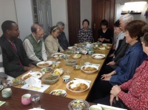 Hachinohe church fellowship meal