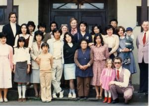 Tachikawa church, 1977