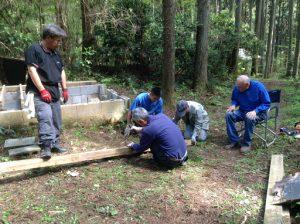 Marlin Ray overseeing work at 2017 Spring Hitachi Christian Camp