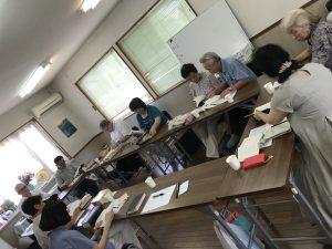 Worship with Shirosato congregation in Ibaraki