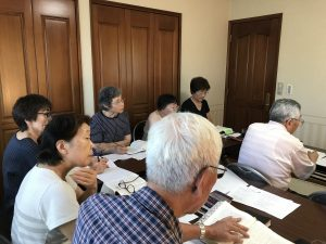 """Hachinohe congregation meeting in """"upper room"""""""